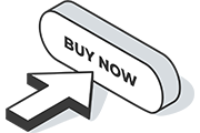 Buy now button icon with arrow