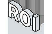 ROI Icon Illustration